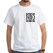 Art Nouveau Initial D Shirt