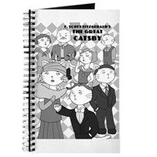 The Great Catsby Journal (black and white)