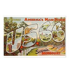 Hwy 66 Route 66 Postcards (Package of 8)