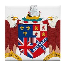 Alabama Coat of Arms Tile Coaster