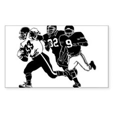 ON THE RUN Rectangle Decal
