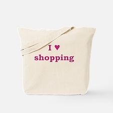 I Heart Shopping Tote Bag