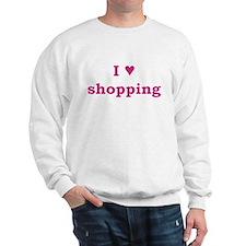I Heart Shopping Sweatshirt