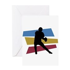 FOOTBALL PLAYER (5) Greeting Card
