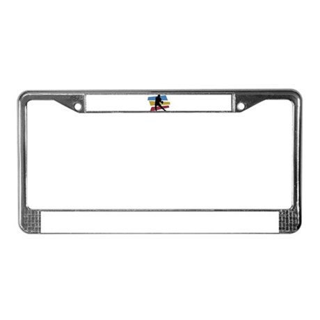 FOOTBALL PLAYER (5) License Plate Frame