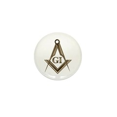 G.I. Mason Mini Button (100 pack)