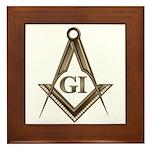 G.I. Mason Framed Tile