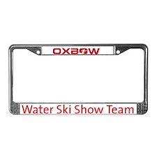 Cute Water ski show team License Plate Frame
