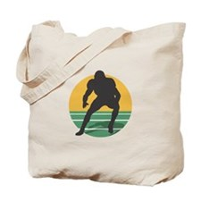 FOOTBALL PLAYER (10) Tote Bag