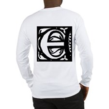 Art Nouveau Initial E Long Sleeve T-Shirt