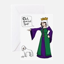 Lady Macbeth Greeting Card