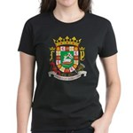 Puerto Rico Coat of Arms Women's Dark T-Shirt