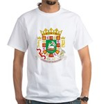 Puerto Rico Coat of Arms White T-Shirt