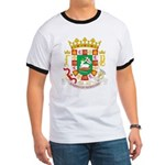 Puerto Rico Coat of Arms Ringer T