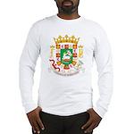 Puerto Rico Coat of Arms Long Sleeve T-Shirt