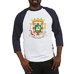Puerto Rico Coat of Arms Baseball Jersey
