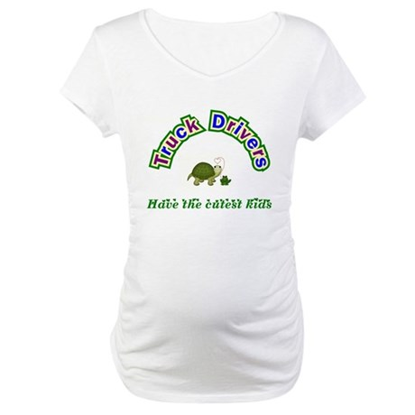 Truck Driver Maternity T-Shirt