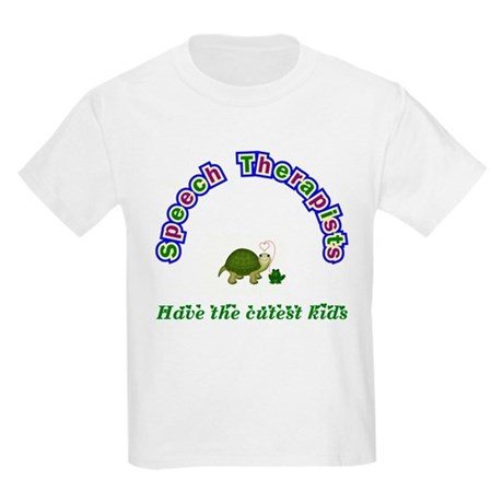 Speech Therapist Kids Light T-Shirt