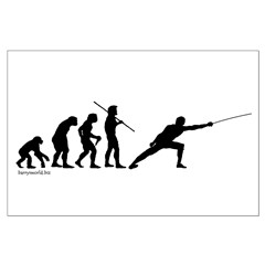 Fencing Evolution Posters