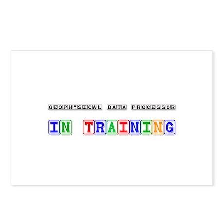 Geophysical Data Processor In Training Postcards (