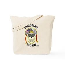 Burgman Riders Fun Skull Tote Bag