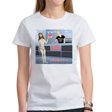 FastMartJesusForPrintonDarkandwhite T-Shirt