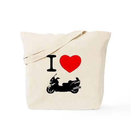 I Love Burgman Tote Bag