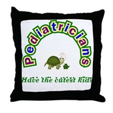 Pediatrician Throw Pillow