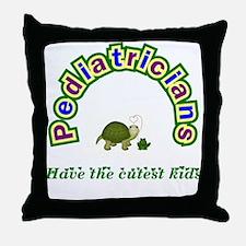Pediatrician Throw Pillow