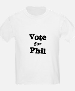 Vote for Phil Kids T-Shirt