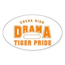 CHS Drama Gym O Oval Decal