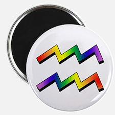GLBT Aquarius Magnet