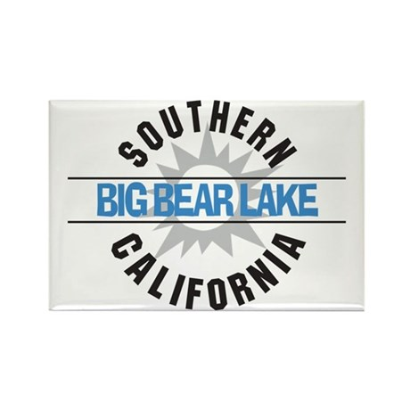 Big Bear Lake California Rectangle Magnet (100 pac