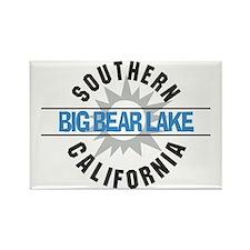Big Bear Lake California Rectangle Magnet (10 pack