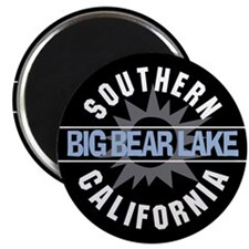 """Big Bear Lake California 2.25"""" Magnet (100 pack)"""