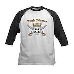 Pirate Princess Kids Baseball Jersey