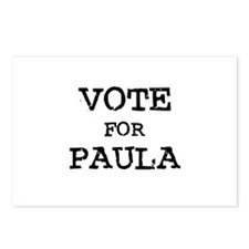 Vote for Paula Postcards (Package of 8)