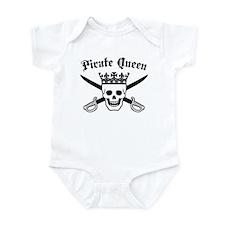 Pirate Queen Infant Bodysuit