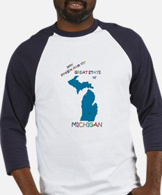 Michigan gift Baseball Jersey