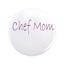 "Chef Mom 3.5"" Button (100 pack)"