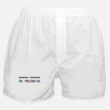 General Manager In Training Boxer Shorts