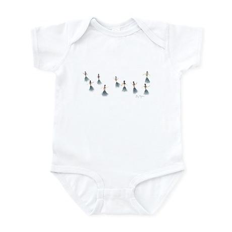 Hula Girls Infant Creeper