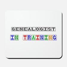 Genealogist In Training Mousepad