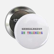 "Genealogist In Training 2.25"" Button"