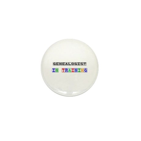 Genealogist In Training Mini Button