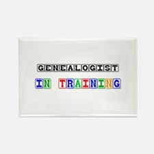 Genealogist In Training Rectangle Magnet