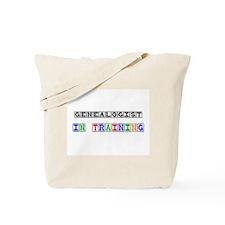 Genealogist In Training Tote Bag