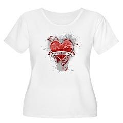 Heart Turkmenistan T-Shirt