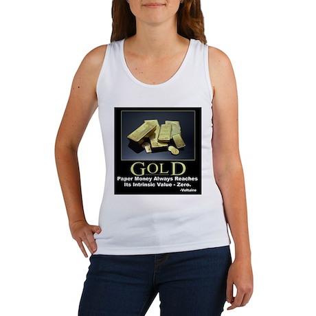 Gold Women's Tank Top