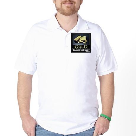Gold Golf Shirt